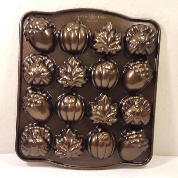 Nordic Ware Other - 👹SOLD👹Nordic Ware Autumn Cake Pan Thanksgiving